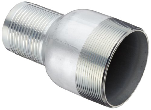 Dixon STC3540 Carbon Steel Hose Fitting, Jump Size King Combination Nipple, 4