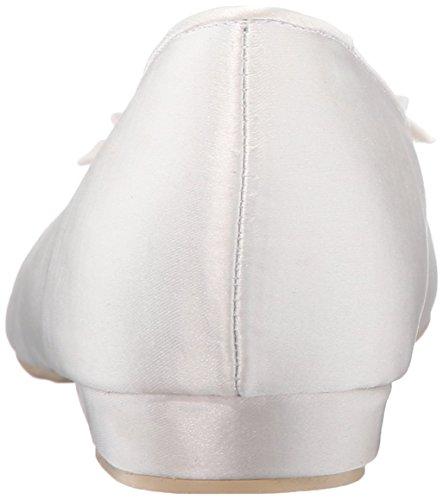 Menbur Women's Alicia Ballet Flat Ivory en3T9clK