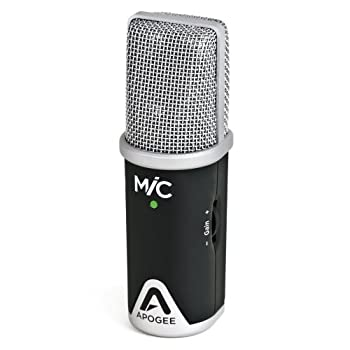 Image of Apogee MiC 96k Professional Quality Microphone for iPad, iPhone, and Mac Computer Microphones