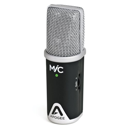 Apogee MiC 96k Professional Quality Microphone for iPad, iPhone, and Mac by Apogee