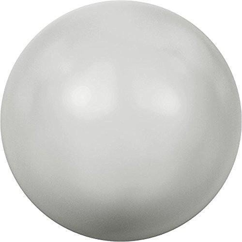- 5810 Swarovski Pearls Round Crystal Pastel Grey | 4mm - Pack of 500 (Wholesale) | Small & Wholesale Packs