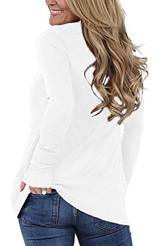 Cardigan Slim Fit Single Es Mujer Breasted Elegante La White Chaqueta XAxT8YwqPP