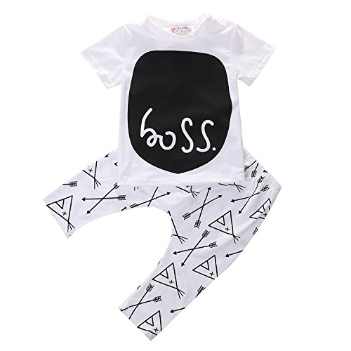 Toddler Sleeve T shirt Outfits Clothes