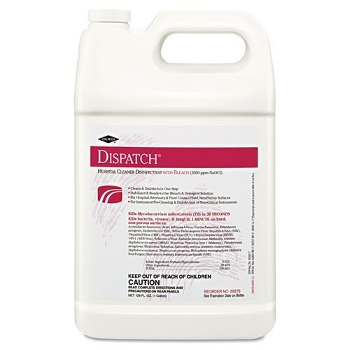 Clorox Healthcare 68978 Hospital Cleaner Disinfectant w/Bleach 128 oz Refill 4/Carton