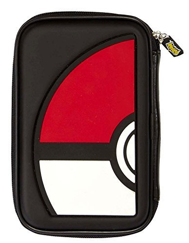 Pokémon Hard Shell Case for the New 3DS XL / 3DS XL mit Compartments for storage Motifs selectable PXL515 - Pokeball, Tasche