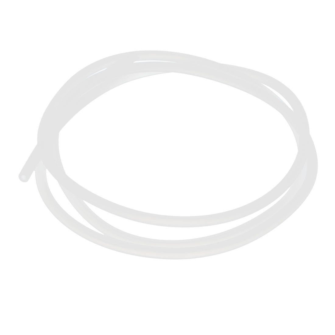 uxcell 2mm x 4mm Translucent Silicone Tube Repalcing Hose Pipe 1M Long