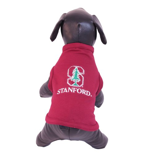 NCAA Stanford Cardinal Cotton Lycra Dog Tank Top, Medium