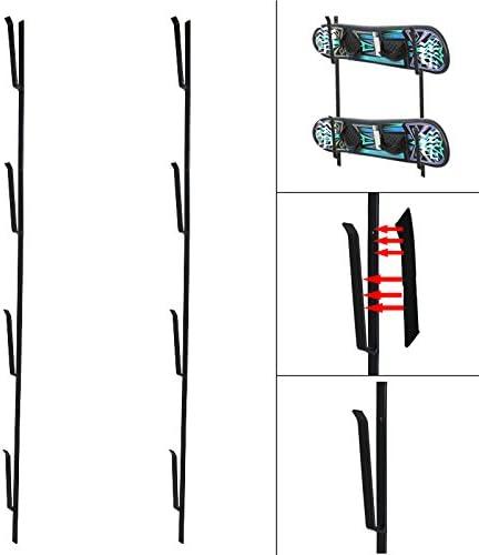 Set Snowboardhalter für 4 Snowboards Skateboard Wandhalterung Wand Halter Halterung Skihalter