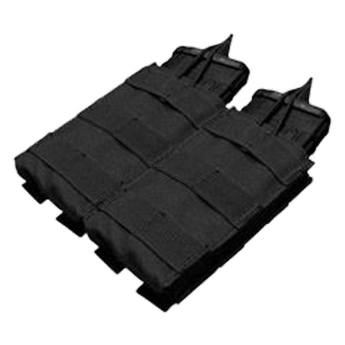 Pouch Rifle Mag - Condor MA19 Double Open Top Mag Pouch Black