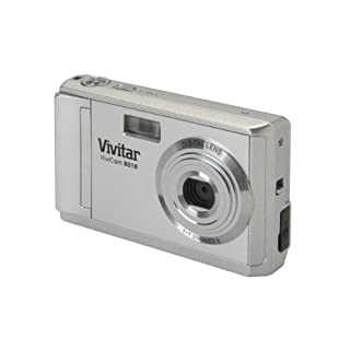Vivitar V8018 8.1MP Digital Camera 8x Zoom Silver