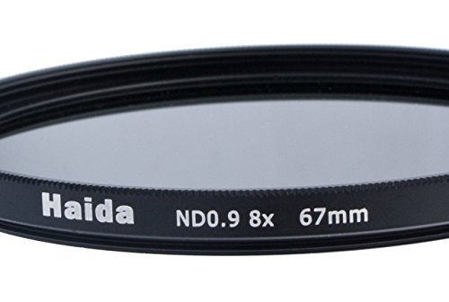 3 opinioni per Haida- Filtro neutro ND8 (0,9) 67 mm