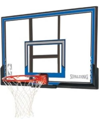 Spalding Basketball 50 Inch Polycarbonate Backboard