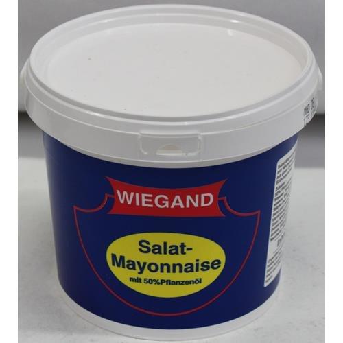 Wiegand Salat-Mayonnaise mit 50% Pflanzenöl 2L