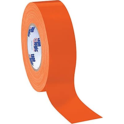 "Tape Logic Duct Tape, 10 Mil, 2"" x 60 yds, Orange, 24/Case by Choice Shipping Supplies"