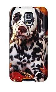 For Galaxy S5 Fashion Design Dalmatian Case-QCOaYCD8036RrsfZ