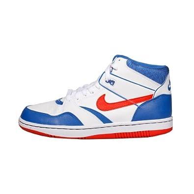 NIKE 454452 Sneaker 101 88 Mid Weiß Gr Orange Sky Blau Force R3j4q5AL