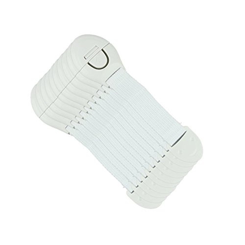 Outdoor Furniture Straps - 10Pcs/Lot Child Lock Protection Of Children Locking Doors For Children's Safety Kids Safety Plastic Lock For Child - Patio Furniture Strap (White)