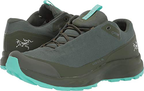 Arc'teryx Aerios FL GTX Approach Shoe - Women's Shorepine/Illucinate 5