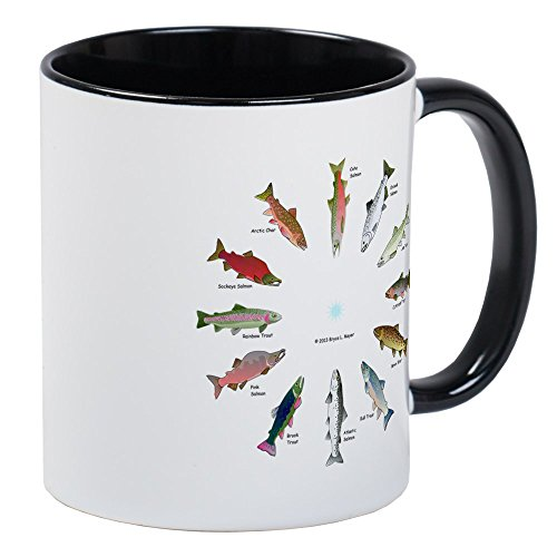 cafepress-north-american-salmon-and-trouts-clocks-mugs-unique-coffee-mug-coffee-cup