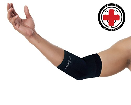 6408f84d2d ... Sleeve AND DOCTOR WRITTEN HANDBOOK —GUARANTEED relief for Tennis elbow,  Golfers Elbow, Arthritis, Elbow compression & support. Sale! 🔍. Elbow  Braces