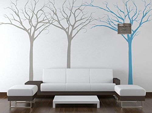 Pop Decors PT-0118-Va Beautiful Wall Decal, Fantasy Trees by Pop Decors