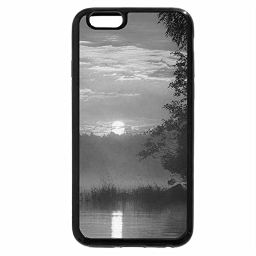 iPhone 6S Case, iPhone 6 Case (Black & White) - That's Cool Sunrise