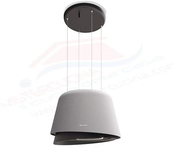 Faber - Campana extractora con acabado en gris mate y gris oscuro cálido mate de 69,5 cm: Amazon.es: Grandes electrodomésticos