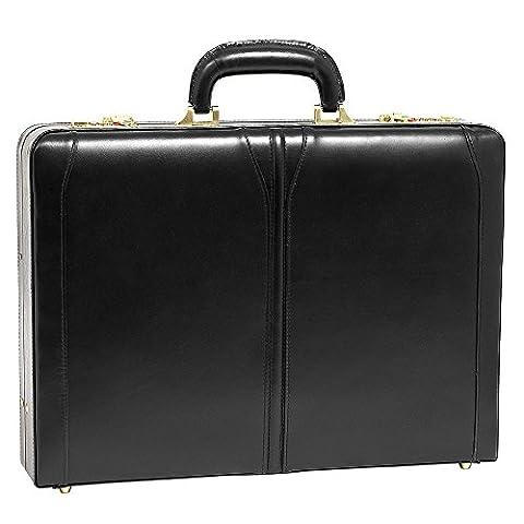 McKlein USA Lawson Slim Attache Case V series Leather 18