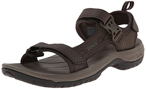 Teva Men's Holliway Sandal, Turkish Coffee, 9 M US