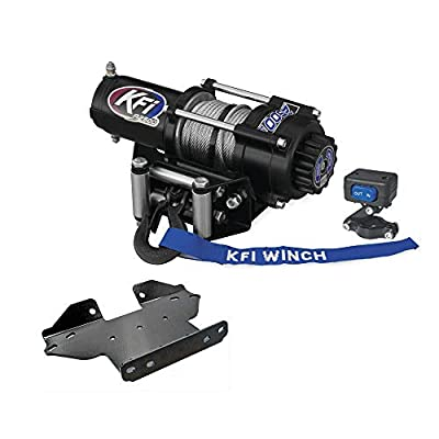 KFI Combo Kit - A2500R2 Winch & Winch Mount - Kawasaki Brute Force 650/750 4x4