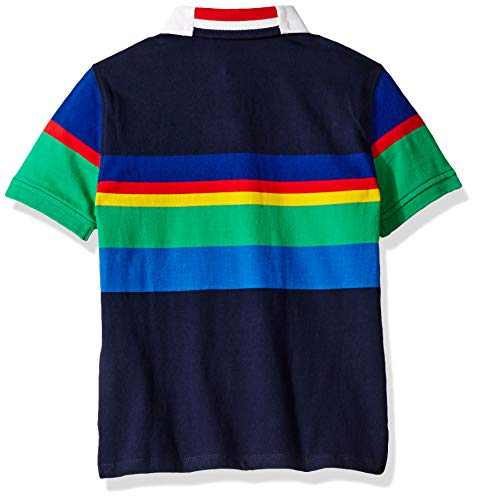 275b73d4 ... Tommy Hilfiger Boys' Adaptive Polo Shirt with Magnetic Buttons, ...