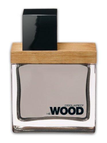 Dsquared2 He Wood Eau de Toilette Spray for Men, 1 Ounce