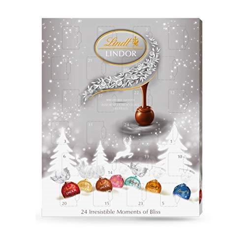 Lindt Lindor surtido trufas de chocolate Calendario de Adviento 300g: Amazon.es: Alimentación y bebidas