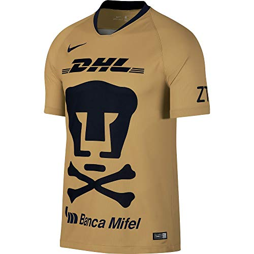 Nike Pumas UNAM 2018-2019 Day of The Dead Home Soccer Jersey (X-Large)