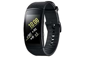 Samsung Gear Fit 2 Pro - Pulsera de Fitness de 1.5'' (4 GB, 1 GHz, 0.5 GB RAM, Tizen), resistente al agua, color negro, talla Large