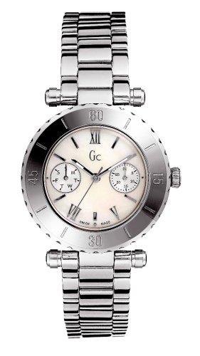 Guess Collection Diver Chic 20026L1 - Reloj analógico de mujer de cuarzo con correa de acero