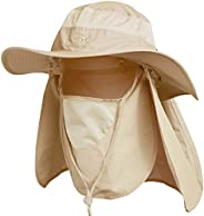 Ddyoutdoor Sun Protection Fishing Cap Neck Face Flap Hat