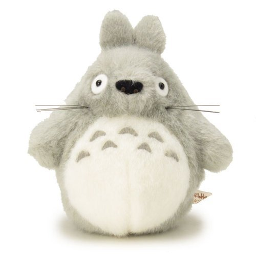 My Neighbor Totoro Stuffed Big Totoro light gray size S /Studio Ghibli by COSPA