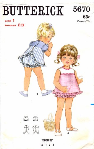 Uncut Vintage Butterick Pattern Dress - 2