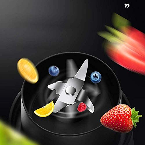 BBGSFDC Mini Blender Portable, Blender de consommation Smoothies/légumes/Fruits USB Rechargeable Forte autonomie de la Batterie Creative Cadeau