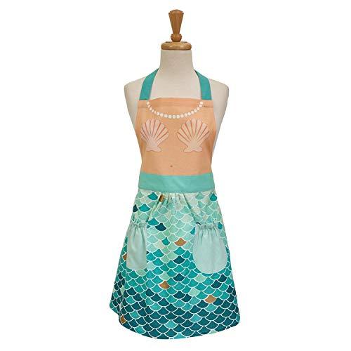 DII Mermaid Printed Apron, Multi ()