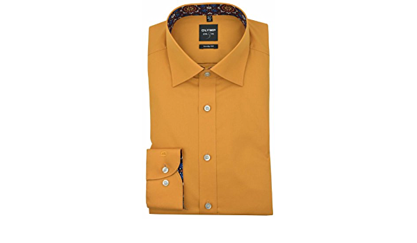 OLYMP - Camisa formal - Básico - Clásico - Manga Larga - para ...
