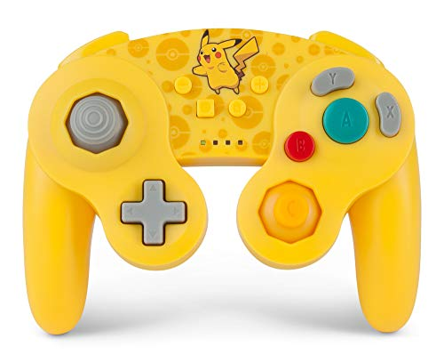 PowerA Pokemon Wireless GameCube Style Controller for Nintendo Switch - Pikachu ()