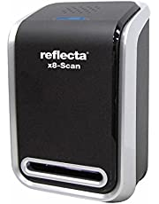 Reflecta x8-Scan Film/Slide Scanner 1800 x 1800DPI Schwarz - Scanner (24,3 x 36,5 mm, 1800 x 1800 DPI, 24 Bit, Film/Slide Scanner, Schwarz, CMOS)