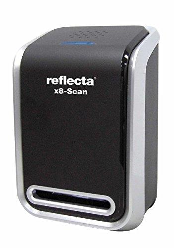 Reflecta x8-Scan Film/slide scanner 1800 x 1800DPI Negro - Escáner (24,3 x 36,5 mm, 1800 x 1800 DPI, 24 bit, Film/slide scanner, Negro, CMOS) 64280