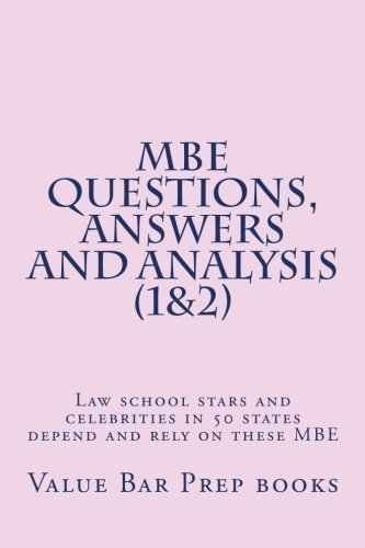 Download MBE Questions, Answers and Analysis (1&2): Law