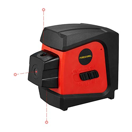 Firecore F333R Red 3-Point Laser Spot Alignment with Self-Leveling
