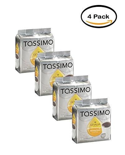 PACK OF 4 - Tassimo Gevalia Morning Roast Coffee 14 ()