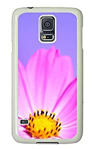 Samsung Galaxy S5 Case,Samsung Galaxy S5 Cases - Nature flower 2 Custom Design Samsung Galaxy S5 Case Cover - Polycarbonate¨CWhite