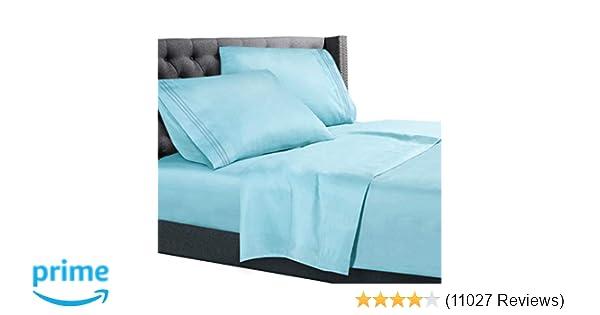 c12bc8e381 Nestl Bedding 4 Piece Sheet Set - 1800 Deep Pocket Bed Sheet Set - Hotel  Luxury Double Brushed Microfiber Sheets - Deep Pocket Fitted Sheet, Flat  Sheet, ...